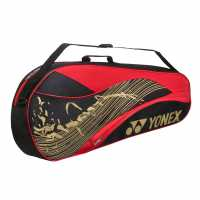Yonex 4823 3 Rkt Bag 02 Black/Red Бадминтон