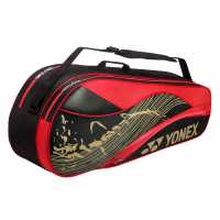 Yonex 6 Racket Bag Black/Red Бадминтон