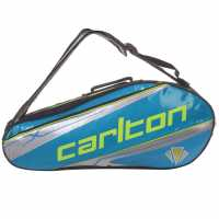 Carlton Kinesis Tour 2 Racket Bag Blue/Black Бадминтон