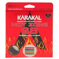 Karakal Hot Zone Badminton String Black Бадминтон