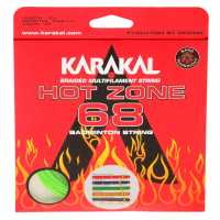 Karakal Hot Zone Badminton String Green Бадминтон