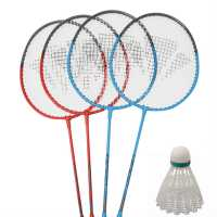 Carlton 4 Player Badminton Set Red/Blue Бадминтон