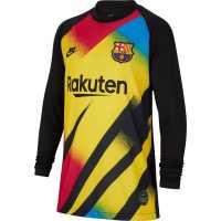 Sale Nike Barcelona Goalkeeper Shirt 2019 2020 Junior Boys  Детски тениски и фланелки