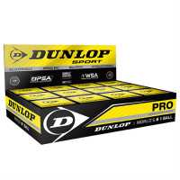 Dunlop Squash Balls Double Yellow Топки за скуош
