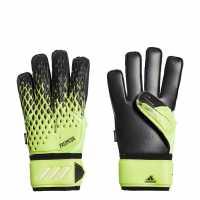 Вратарски Ръкавици Adidas Predator 20 Match Fingersave Goalkeeper Gloves Uni Signal Green / Black / White Вратарски ръкавици и облекло