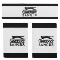 Slazenger Banger Sweatbands Set White Ленти за глава и кърпи за зала