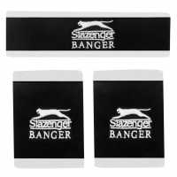 Slazenger Banger Sweatbands Set Black Бадминтон аксесоари
