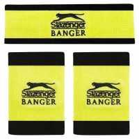 Slazenger Banger Sweatbands Set Fluo Бадминтон аксесоари