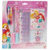 Character Училищен Комплект 16Pc Stationery Set Disney Princess Подаръци и играчки