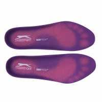 Slazenger Дамски Стелки Gel Insole Ladies Purple Стелки за обувки