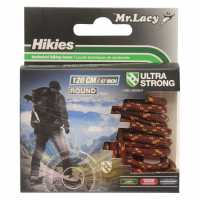 Outdoor Equipment Mr Lacy Hikies Round Laces Drk Brown/L Brw Връзки за обувки