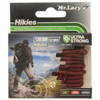 Outdoor Equipment Mr Lacy Hikies Round Laces Dark Brown Връзки за обувки