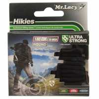 Mr Lacy Hikies Round Laces Black Връзки за обувки