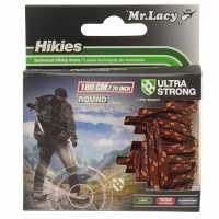 Mr Lacy Hikies Round Laces Drk Brown/L Brw Връзки за обувки