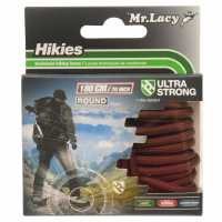 Mr Lacy Hikies Round Laces Dark Brown Връзки за обувки