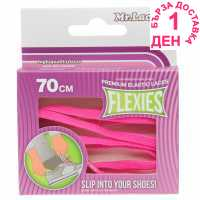 Outdoor Equipment Mr Lacy Flexies Elastic Laces Pink Стелки за обувки