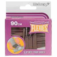 Outdoor Equipment Mr Lacy Flexies Elastic Laces Dark Grey Стелки за обувки