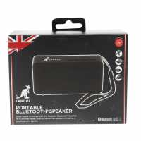 Kangol Portable Bluetooth Speaker Black Слушалки