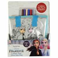 Character Frozen Colour Your Own Tote Bag Elsa/Anna Подаръци и играчки