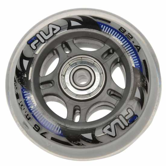 Fila Skate Wheels 76Mm 8 Pack White Скейтборд