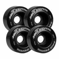 No Fear Pvc Quad Skate Wheels Black Скейт аксесоари