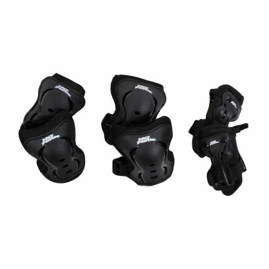 No Fear Протектори Skate Protection 3 Pack Black Скейт аксесоари