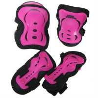 No Fear Протектори Skate Protection 3 Pack Pink Скейт аксесоари