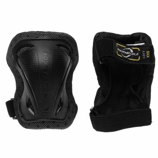 Rollerblade Gear 3 Pack Juniors Black Скейт аксесоари