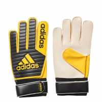 Adidas Classic Training Gk Gloves Black/Gold Скейт аксесоари