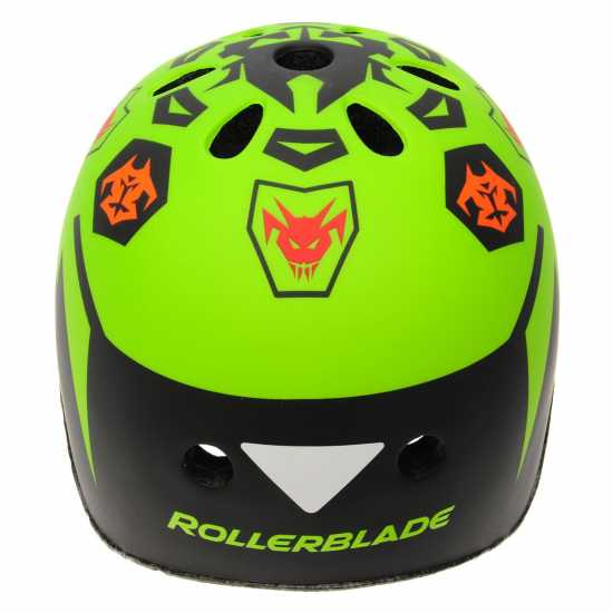Rollerblade Twist Cycle Helmet Junior Boys Black/Lime Скейт аксесоари