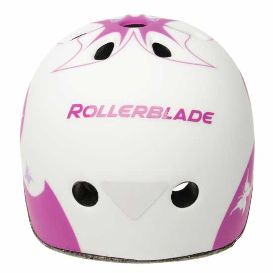 Rollerblade Twist Cycle Helmet Girls White/Purple Скейт аксесоари