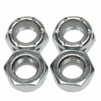 Sushi Axle Nuts 4Pk 81 Silver Скейтборд