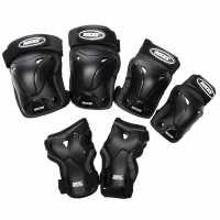 Roces Vent Prot 3Pk Sn00 Black Скейт аксесоари