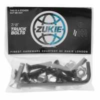 Zukie Truck Bolts Silver Скейтборд