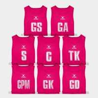 Gilbert High 5 Bibs Pink Нетбол