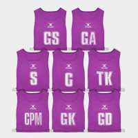 Gilbert High 5 Bibs Purple Нетбол