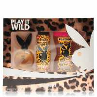 Playboy Play It Wild Edt 3 Piece Set Ladies Play It Wild Подаръци и играчки