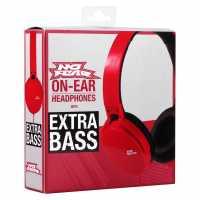 No Fear Core Headphones Red Слушалки