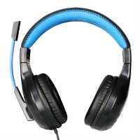 No Fear Gaming Headset Black/Blue Слушалки
