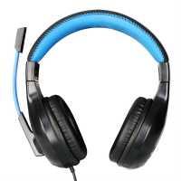 No Fear Gaming Headset Black/Blue Слушалки
