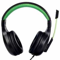 No Fear Gaming Headset Black/Green Слушалки
