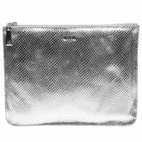 Biba Large Pouch Silver Дамски чанти