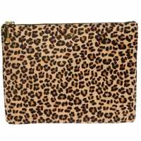Biba Large Pouch Leopard Дамски чанти