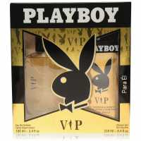 Playboy Vip 100Ml Eau De Toilette Set Mens VIP Подаръци и играчки
