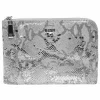 Biba Mini Pouch Purse Silver Дамски чанти