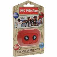 Character One Direction Earpods Red/Black Слушалки