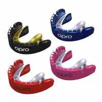 Opro Gold Braces Mouthguard Mens  Хокей