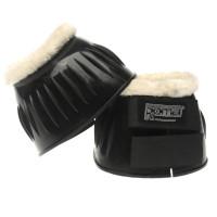 Roma Fleece Bell Boots Black/White Велоергометри