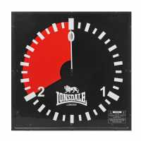 Lonsdale Стенен Часовник 2 Minute Wall Clock  Боксов фитнес и хронометри