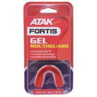Atak Fortis Senior Gel Mouthguard Red/White Хокей